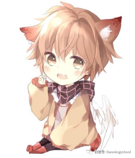 有猫耳的q版动漫人物未收录 q版动漫人物男生猫耳朵图片