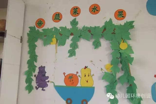 快乐夏天 幼儿园夏天主题墙装饰设计欣赏