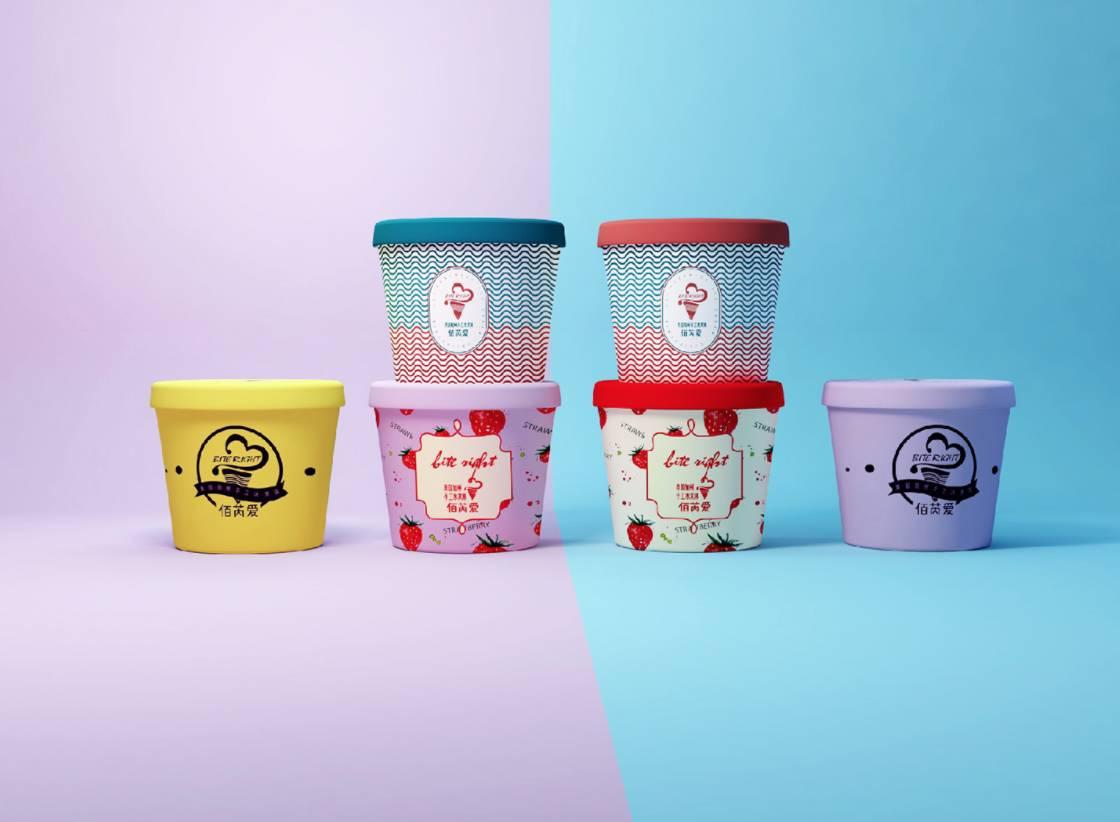 多款冰淇淋包装任你选,还不能给你解解暑?图片