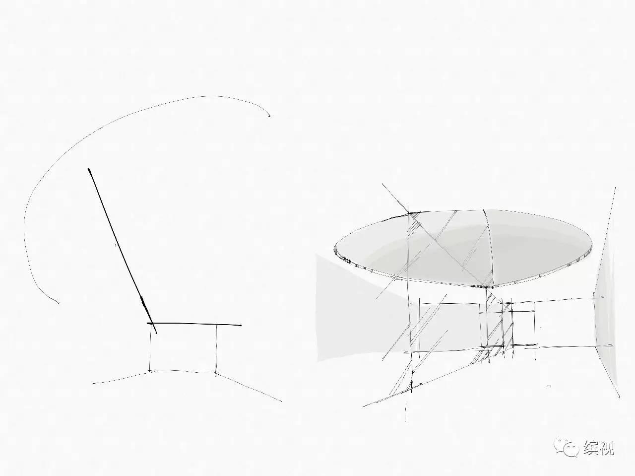 手绘橱柜设计图 手绘