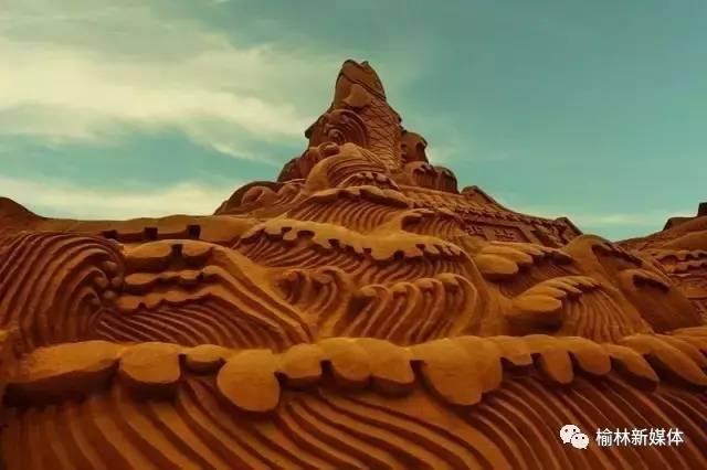 榆林 惊现 沙漠中的海市蜃楼,你看到了吗图片