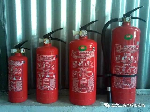 灭火器消防器材