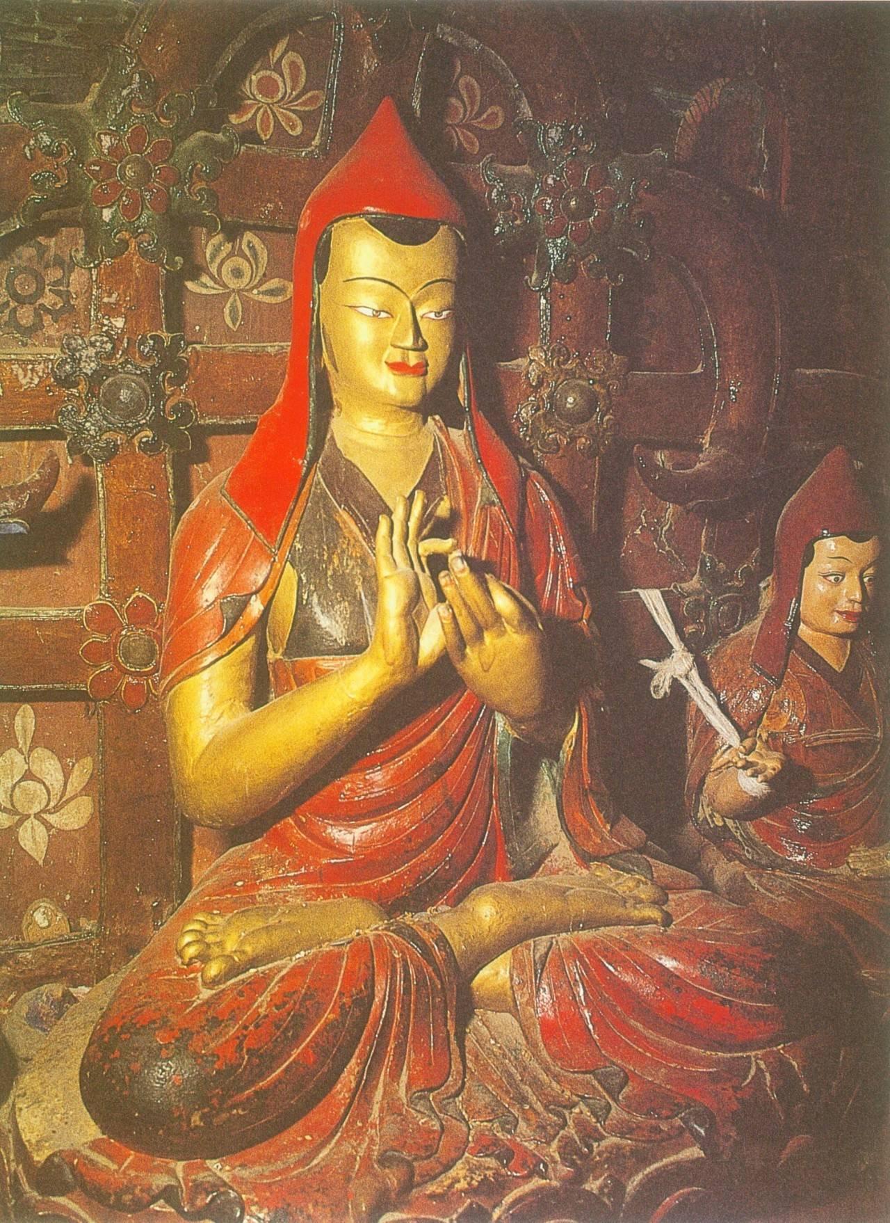 阿底峡尊者:藏传佛教噶当派祖师_腾讯网