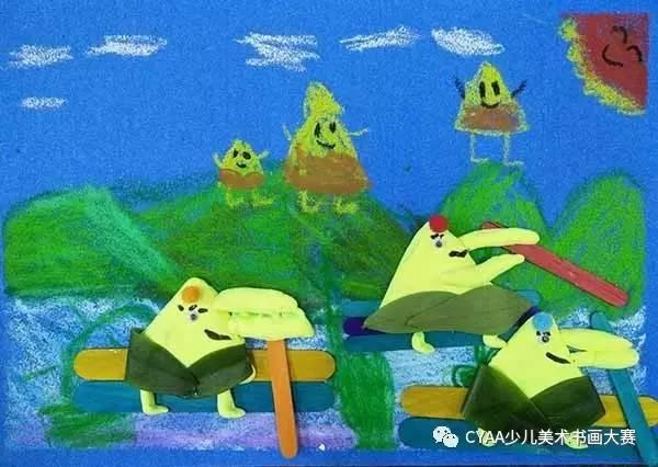 【cyaa微画展∣1152】广东省广州市星宇星绘儿童美术图片