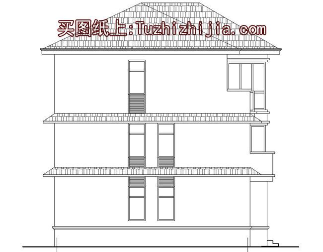 小户型兄弟双拼房屋设计图(以实用,造价低为主)