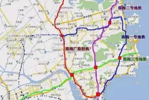 旅游 正文  据珠海市地铁轨道规划,地铁的线路走向: r1线: 香洲港—