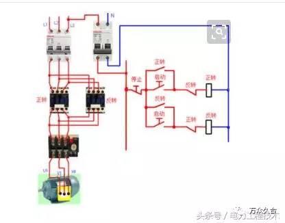 双重联锁的正反转控制,电力工程技术专家简单明了图文