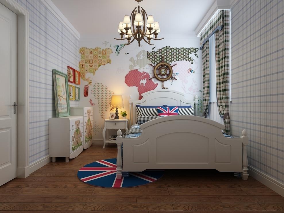 小平房欧式田园卧室
