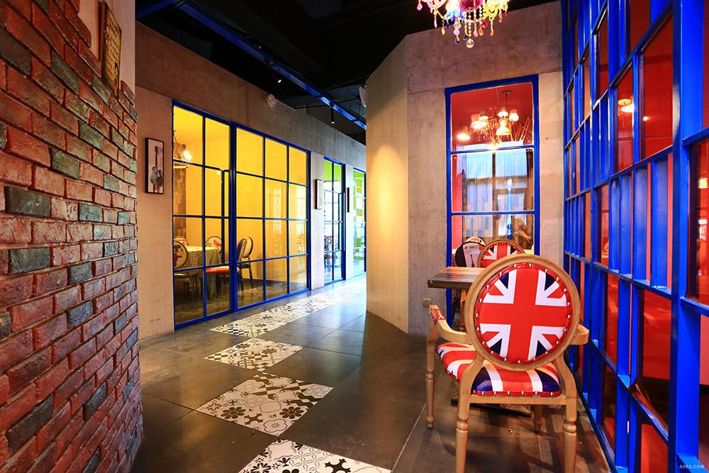 波西米亚风格创意私房菜餐厅装修设计
