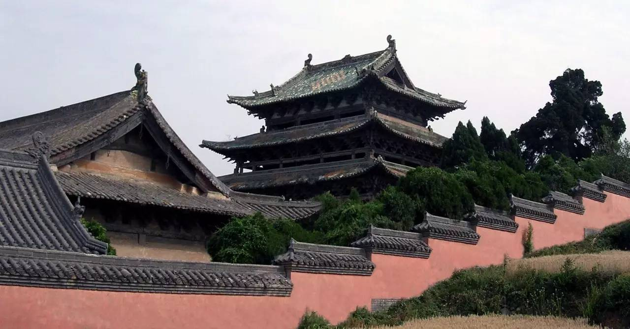 """山高水长 物象万千_""""诗仙""""李白唯一的传世真迹居然是写给济源的!"""