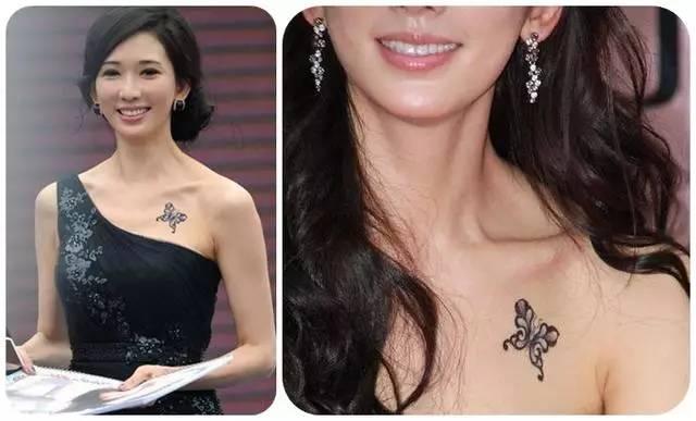 娱乐圈喜欢纹身的女明星,风格大不一样!