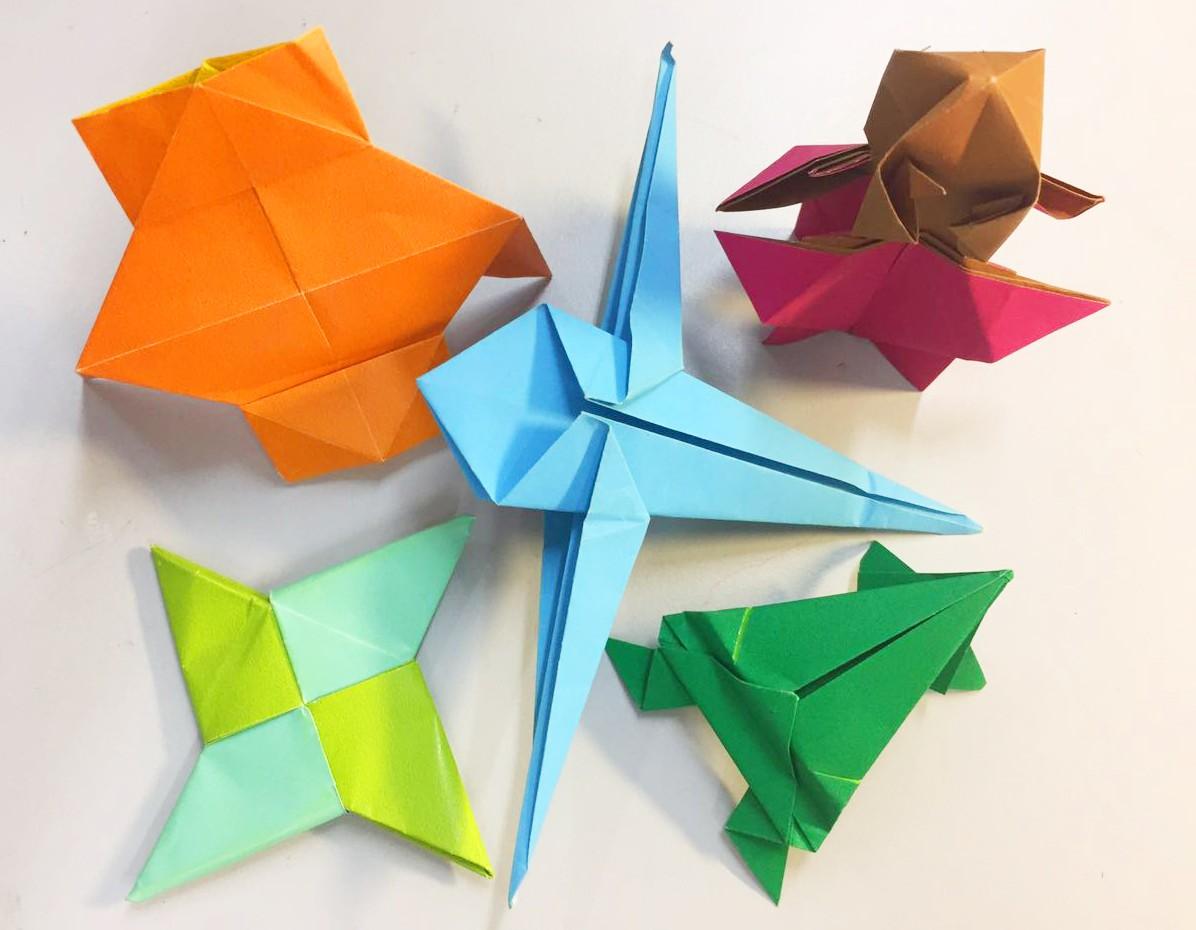 简单食物折纸步骤图解