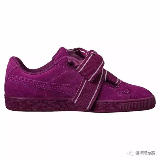 PUMA SUEDE HEART SATIN 女款运动板鞋