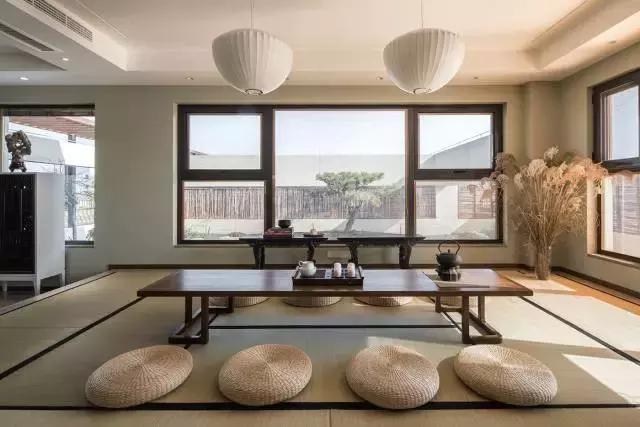 民宿装饰之——新中式茶室