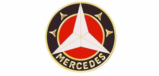 奔驰车标logo的演变历史