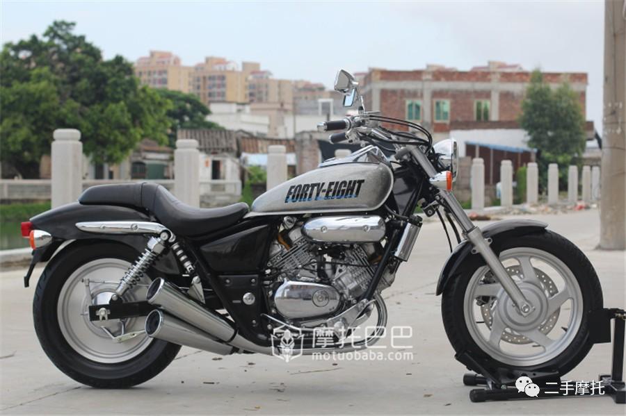 二手摩托 本田 马格纳 250 双缸太子摩托车 摩托巴巴