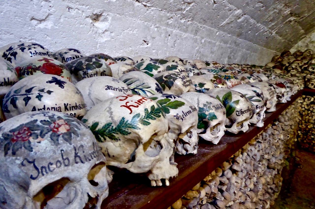 【阿尔卑斯之旅·5】骷髅花,寻访哈尔施塔特的骸骨屋
