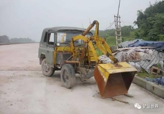 由于要控制成本,这种车往往是由小四轮拖拉机改装而成的.   重庆一图片