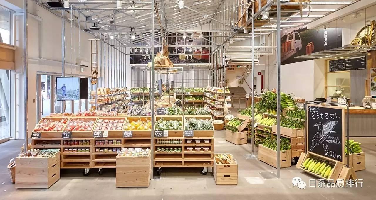 因为在有乐町的无印良品旗舰店开始卖起了生鲜蔬菜来了!