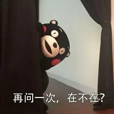 搞笑表情 | 想你,想发熊本熊表情包给你