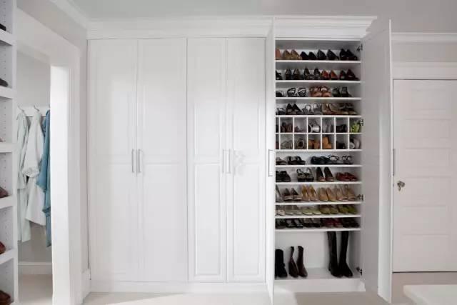 倾斜式鞋柜内部结构图