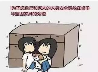 祈福九寨沟 地震安全逃生手册,望周知