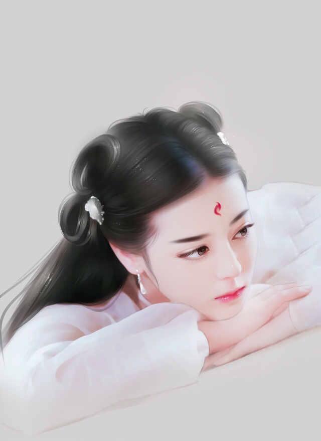 凤九(迪丽热巴)的手绘图,美的惊心动魄!