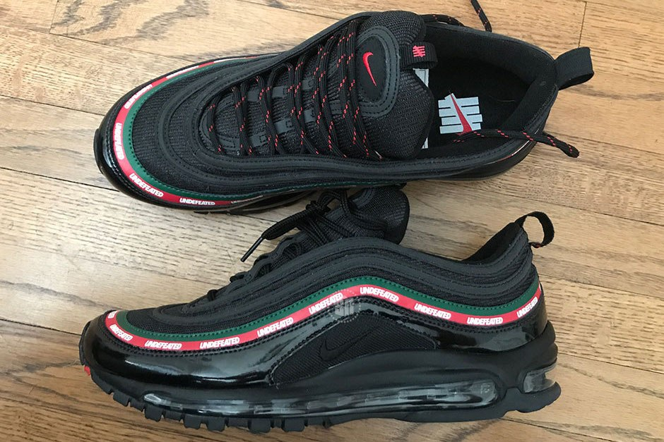 undefeated x nike 联名 air max 97 曝光