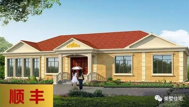 16X9米农村别墅,带有堂屋的经典户型,建房首选