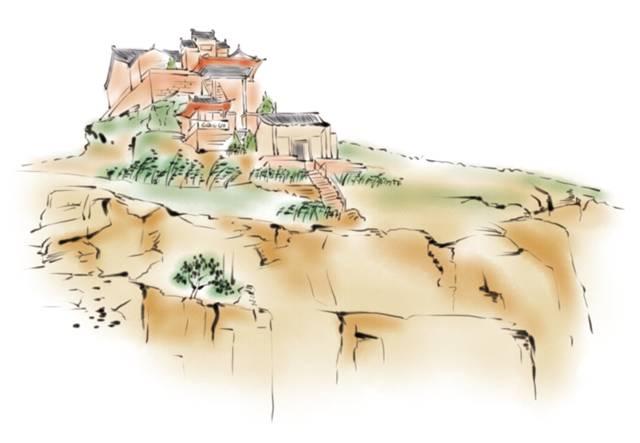 25张手绘图:速览神木美食美景!
