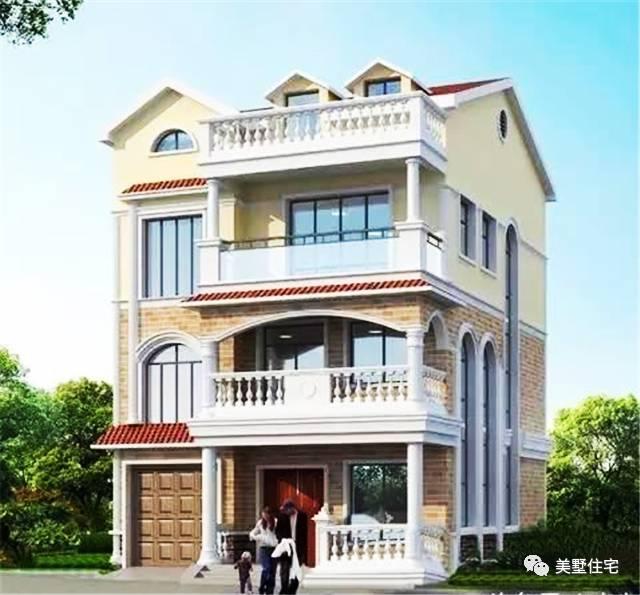 9X10米四层农村别墅,真正适合的农村设计