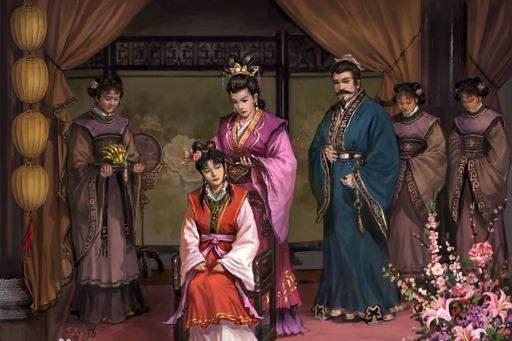 因为古代女子十五岁便可以嫁人,所以在之前得找好婆家,女子便开始梳妆