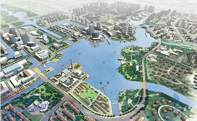 营东新城规划图