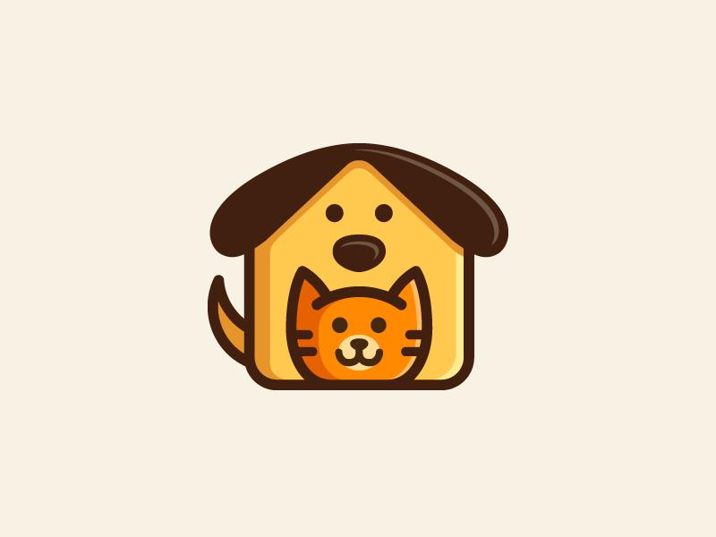 这么萌的动物角色logo设计,不收藏是你的损失