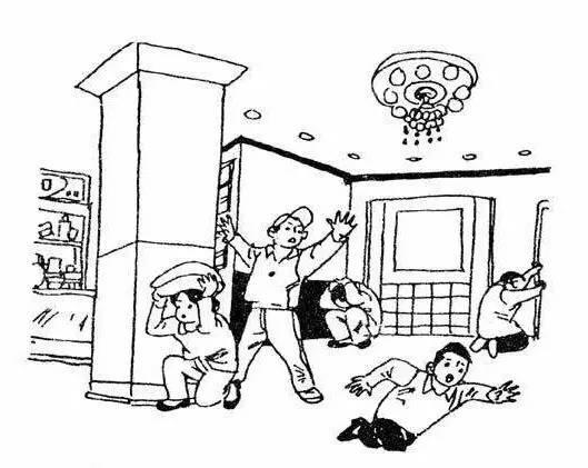公共场所地震