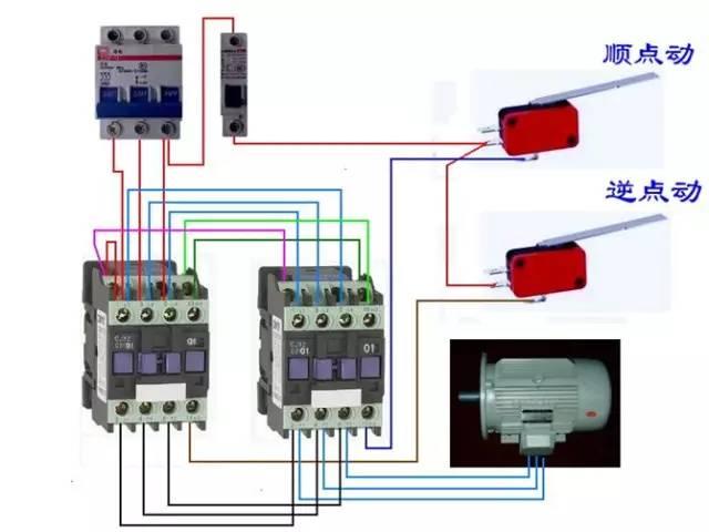 大型电动机启停接线控制方法 三菱PLC编程控制方法 接线图分享