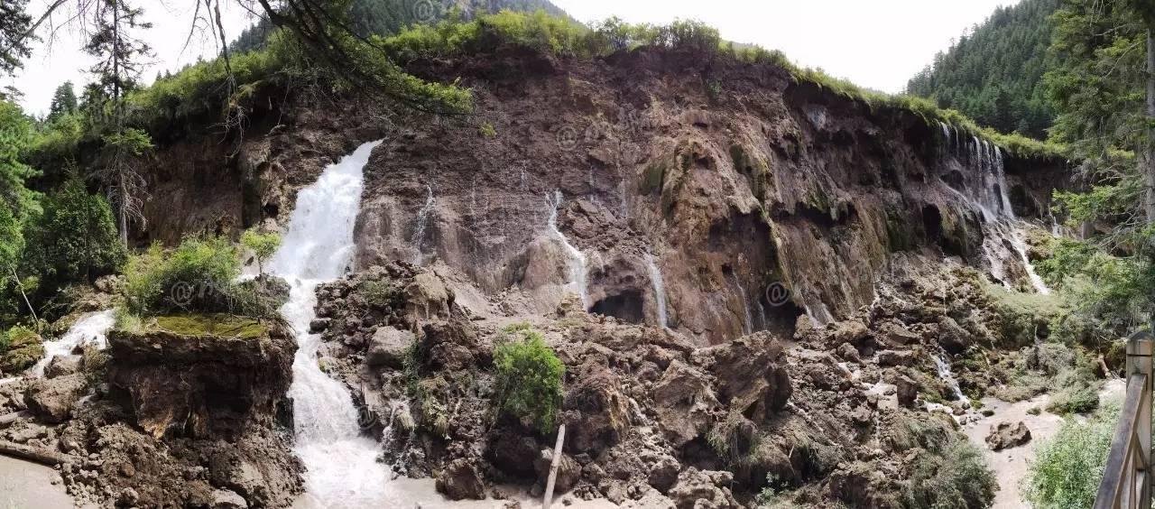 九寨沟最宽的瀑布_亚洲最宽的瀑布 若日朗瀑布 九寨之旅十二