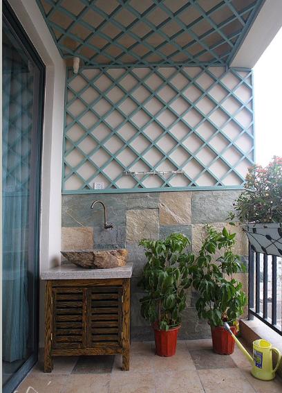 别人家的阳台,几平米的空间竟可以美出100种方法