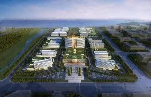预计2017年12月投用 位置:红岛经济区双积路以南,规划经二路以北,会展
