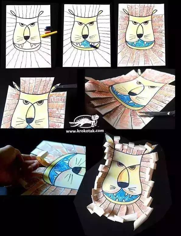 动物涂画面具