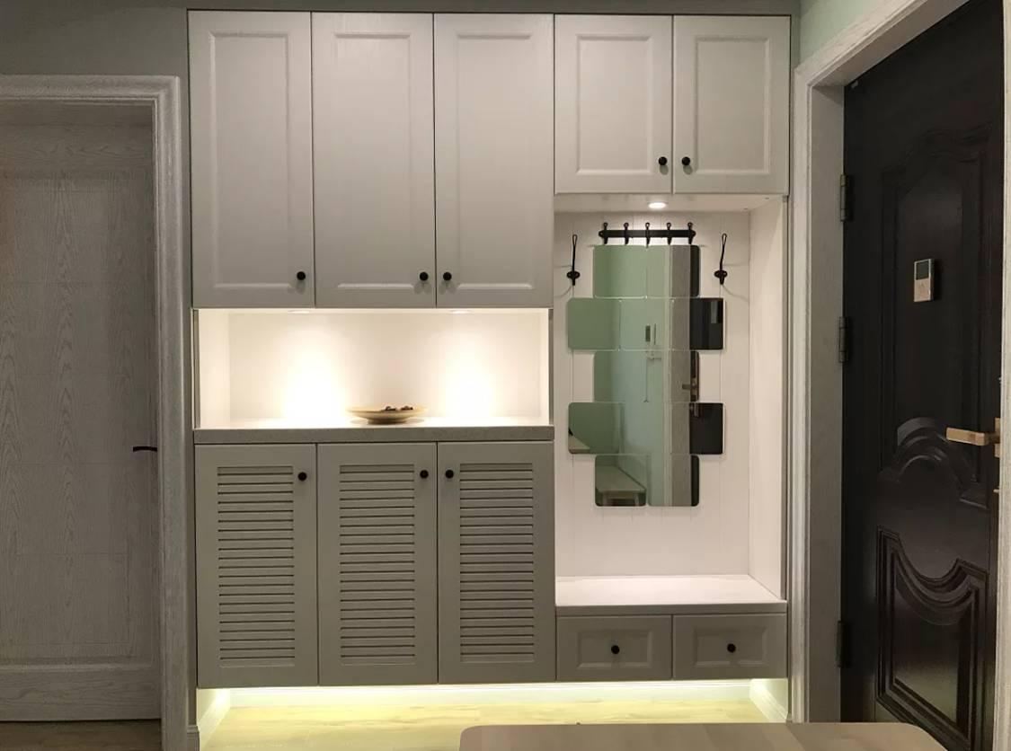 入户空间别浪费:这样的鞋柜设计才是真的又美又实用!