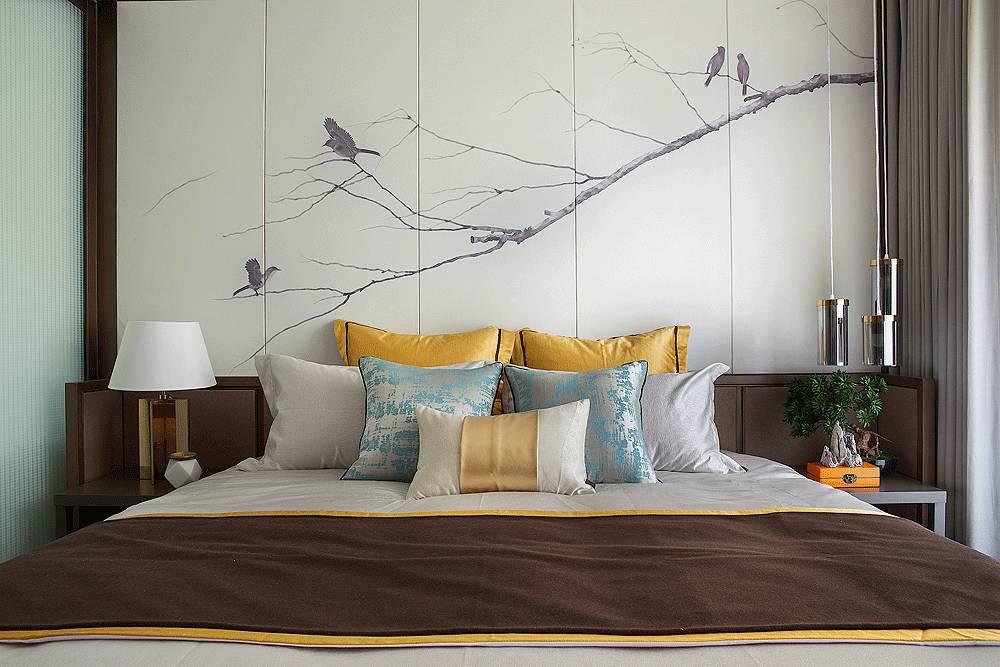 有一种卧室,叫新中式设计!