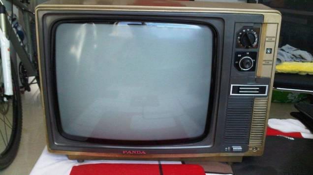 熊猫牌电视机