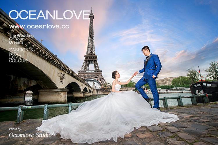 法国婚纱照_法国婚纱照圣地