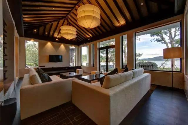 酒店占地9万6千平方米,幕后设计师是祖籍宁波的美籍华裔sylvia chiang图片