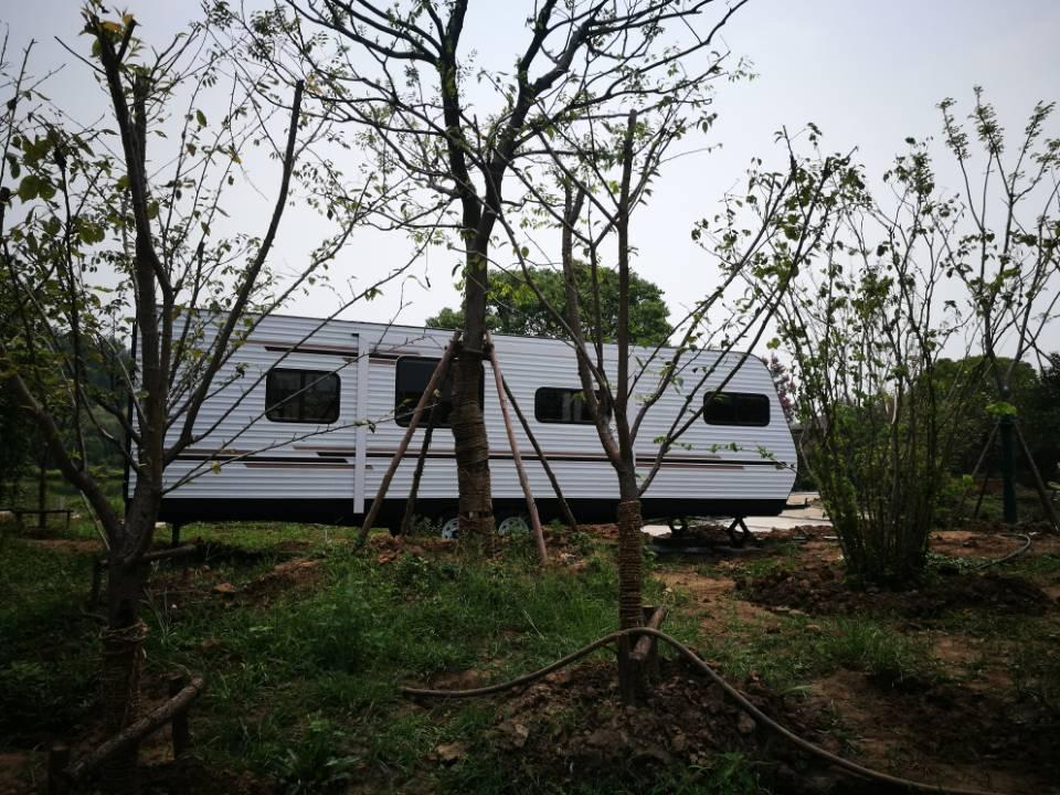 营地建设 | 途居南通开沙岛房车露营地建设进展顺利