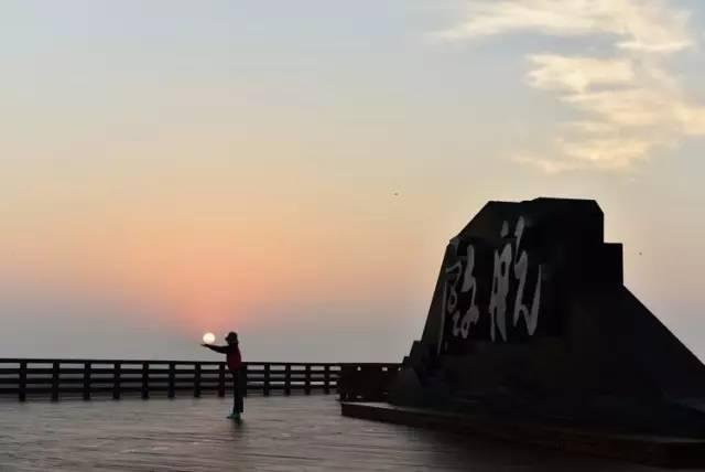 葫芦岛自己的红海滩,兴城红海栈道正式扬帆启航,快来先睹为快吧!