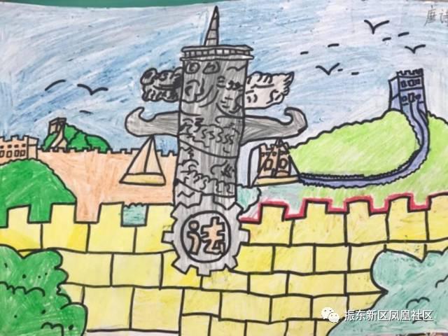 社区青少年暑期教育 首届传统绘画作品成果展