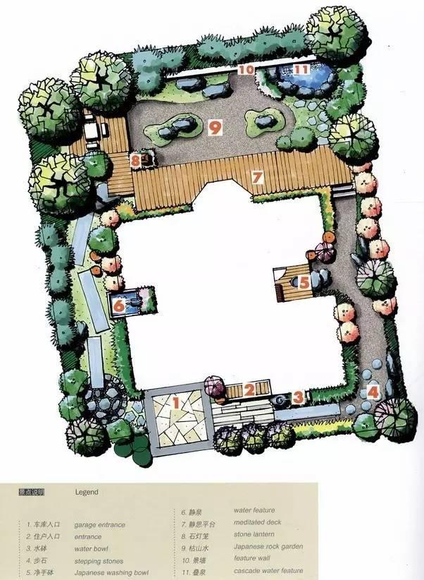 80个庭院设计方案