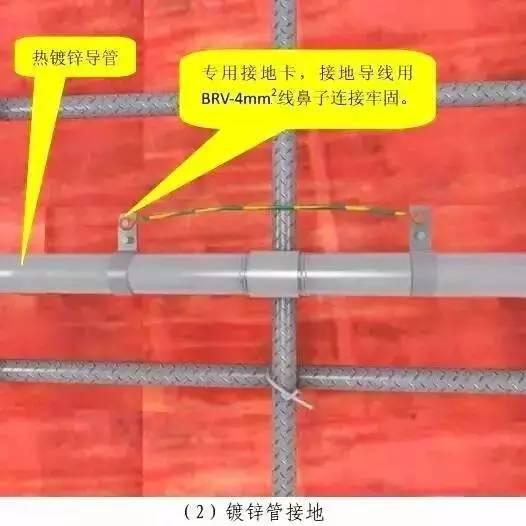 【工程创优】预留预埋及管道安装施工质量标准化图册!